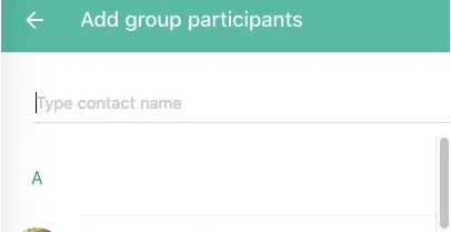 add whatsapp group participants
