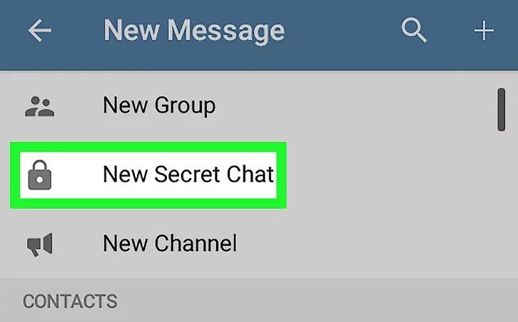 Telegram Secret Chat Group On Desktop Save Photo or Screenshot