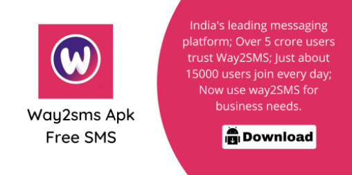 way2sms App For Android APK