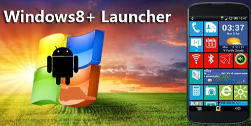 Windows 8 Launcher APK For Android