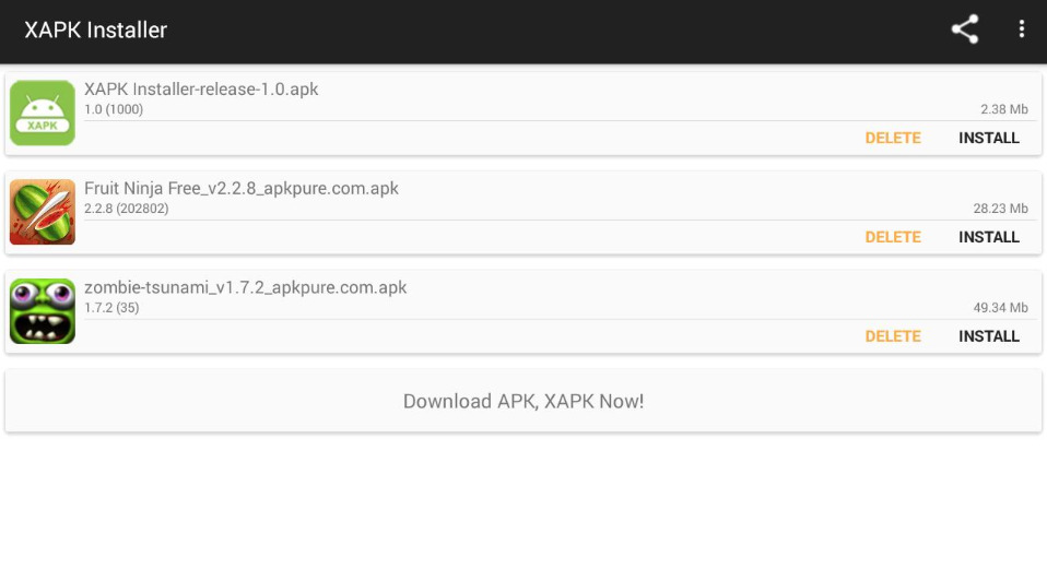 XAPK Installer Pro Android