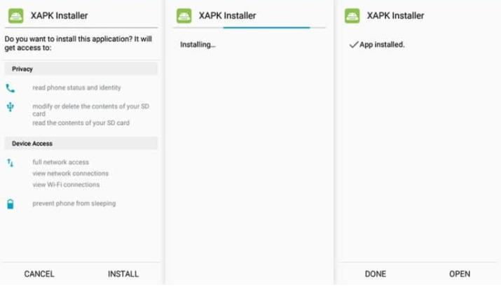 XAPK Installer install