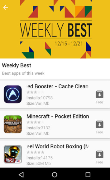 Aptoide apk versus Mobogenie and Blackmart. Which one is better?