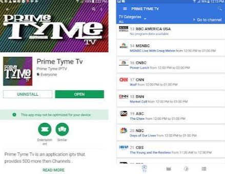 Prime Tyme Tv App Channels APK