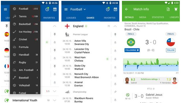 Sofa Soccer Scores Live apk Download