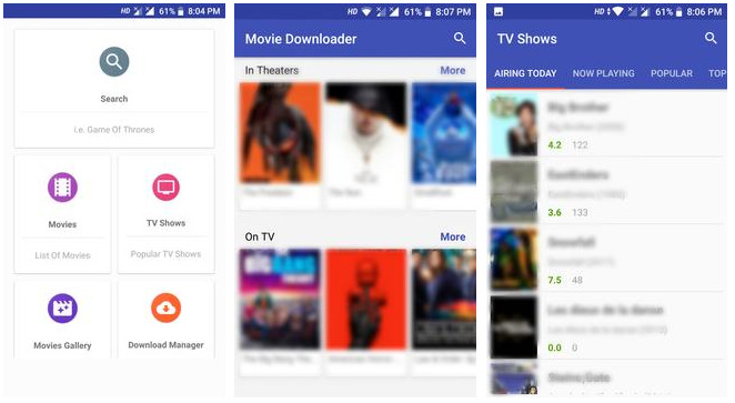Movie Downloading apk
