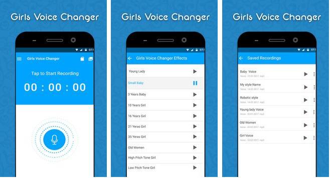 Girls Voice Changer apk