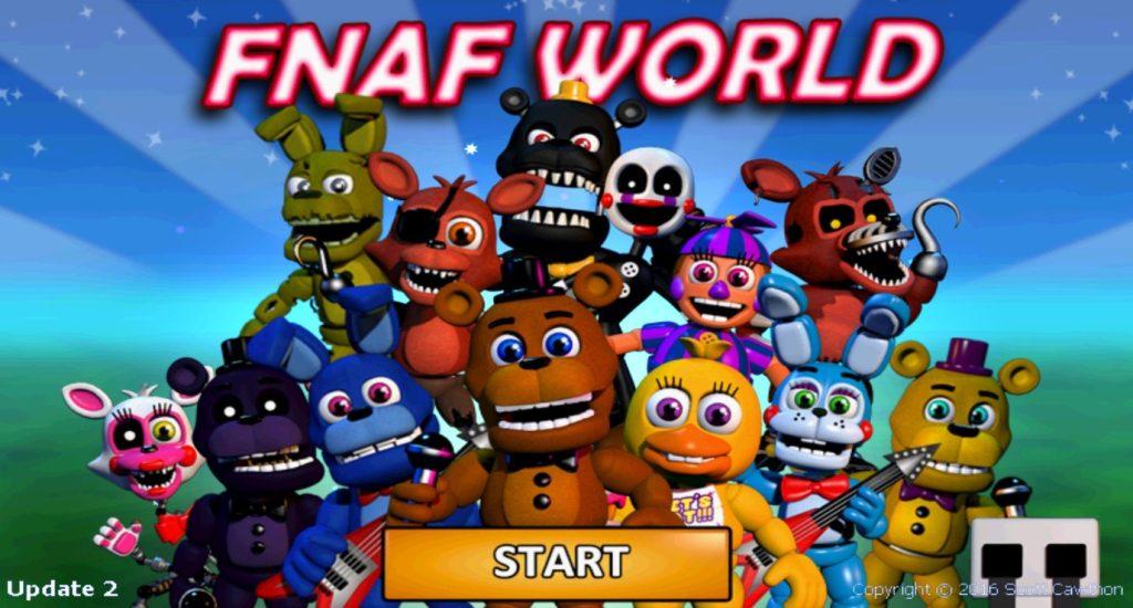 FNAF World apk Download