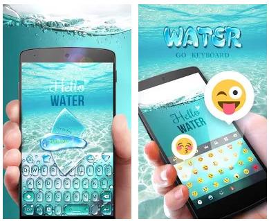 Go Keyboard Theme Water apk