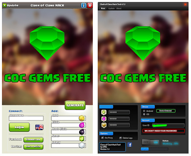 Free COC Gems APK