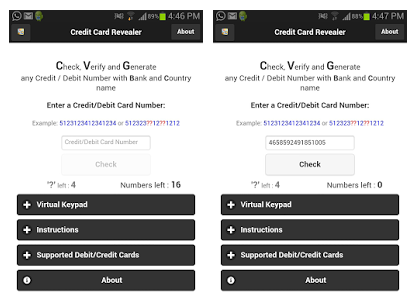 Credit Card Revealer APK