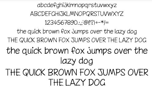 Written Fonts 50 apk
