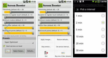TouchScreen Booster APK