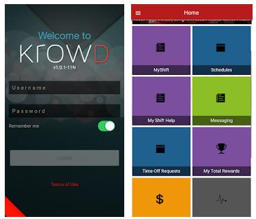 Krowd App apk